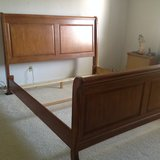 King  Sleigh bed with headboard/footboard  STILL AVAILABLE! in Vacaville, California