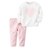 NWT 2pc Pink heart set 6M in Ramstein, Germany