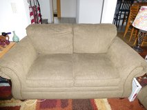 tan couch and loveseat set in Ramstein, Germany