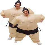 Adult Inflatable Sumo Wrestler Costume in Oceanside, California