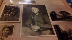 old photo book from the 2nd world war in Ramstein, Germany