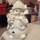 Porcelain Snowman Night Light in Westmont, Illinois