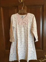 Girls long sleeve night gown with flowers Petit Bateau in Naperville, Illinois