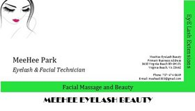 Eyelash extension $200 now 50% off One by One mink in Norfolk, Virginia