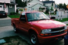 2000 Chevy S-10 Pickup Truck in Fort Lewis, Washington