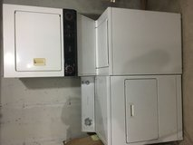 Dryer and stacked washer/dryer in Morris, Illinois