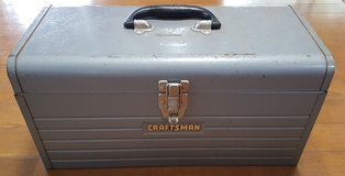 """Craftsman 18"""" Metal Toolbox w/ Pull Out Tray in Okinawa, Japan"""