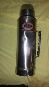 Metal Insulated Coffee thermos- used in Fort Campbell, Kentucky