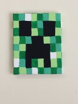 Mine craft painting in Beaufort, South Carolina