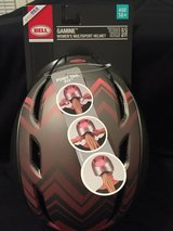 Bell Gamine Women's Bicycle Helmet Adult 14+ Pony Tail Fit MANGO SILVER MODEL in Fort Campbell, Kentucky