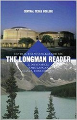 Book for English 1301 Class, The Longman Reader in Oceanside, California
