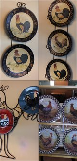 Chicken Decor in Algonquin, Illinois