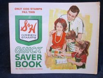 S&H Green Stamps & Stamp Books FULL & EMPTY in Naperville, Illinois