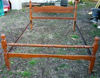 Full size bed and rails in Fort Campbell, Kentucky