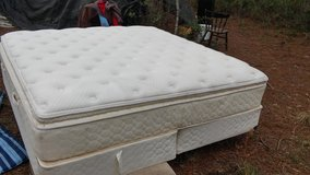 King therapeutic pillow top bed with box springs in Hinesville, Georgia