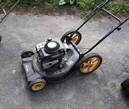 POULAN   SELF-PROPELLED MOWER W/ REAR BAG in Katy, Texas