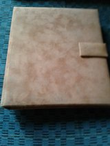 Tan Faux Suede Address Book New in Beaufort, South Carolina