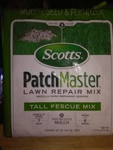 Lawn -Pennington tall fescue seed - Scott's every drop -Scott's patchmaster in Yucca Valley, California