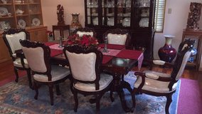 Rosewood Dinning Table 6 chairs in Okinawa, Japan