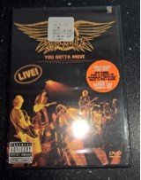 Aerosmith you gotta move (DVD) Bonus live Audio CD  at Discogs Year 2004 in Ramstein, Germany