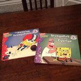 2 Spongebob Books in Spangdahlem, Germany