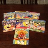 7 Different SpongeBob Books in Spangdahlem, Germany