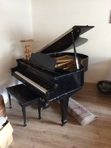 Baby grand piano in Ramstein, Germany