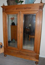 Antique Armoir from Belgium in Ramstein, Germany
