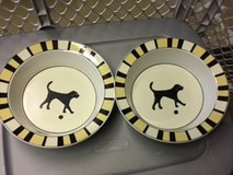 Ceramic Dog Bowls in Great Lakes, Illinois