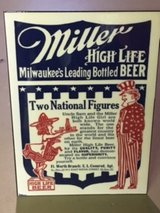 Standing Bar Sign- High Life in Great Lakes, Illinois