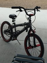 Boy bicycle in Travis AFB, California