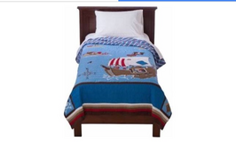 Pirate Bed quilt - Twin size by Circo - Target in Plainfield, Illinois