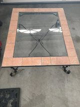 Glass & Tile Patio Table in 29 Palms, California