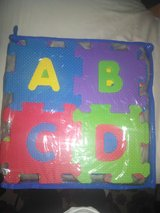 Little foam abc and 123 puzzle in Camp Lejeune, North Carolina