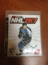 nhl2k7 for ps3 in Okinawa, Japan