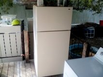 GE apartment size refrigerator in Baytown, Texas