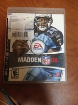 madden nfl 08 for ps3 in Okinawa, Japan