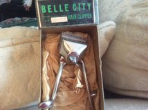 Antique hair clippers with box in Aurora, Illinois