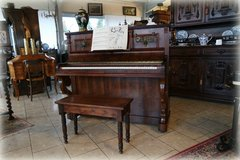 Unique upright piano J Staub - one hour from Ramstein in Ramstein, Germany