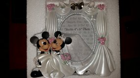 Mickey and Minnie Wedding picture  frame in Hinesville, Georgia