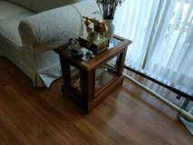 End Table (Wood & Glass) in Orland Park, Illinois