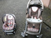 Baby stroller (car seat section is expired) in Ramstein, Germany