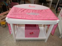 Retired American Girl Bitty Baby Changing table in DeKalb, Illinois