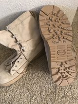Flight approved boots in Fort Rucker, Alabama