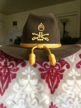 Greeley hat works campaign hat in Fort Irwin, California