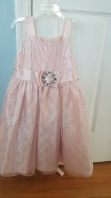 Girls Pretty Pink dress with sparkling bling in Belleville, Illinois