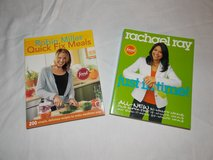 Robin Miller & Rachel Ray Cookbooks in Fort Campbell, Kentucky