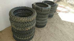 Used dirt bike tires in Yucca Valley, California