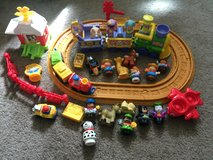 Fisher Price Large Musical Easter Train,  Small Musical Train With Tracks, Cars, Airplane, Batma... in 29 Palms, California