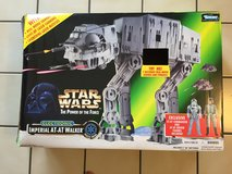 VINTAGE  Star Wars POTF Power of the Force Imperial AT-AT Walker 1997 Electronic in Tinley Park, Illinois